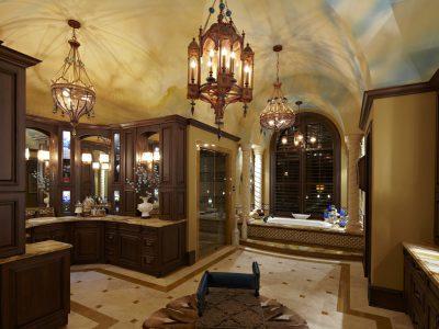 Luxury bathroom remodeled by Sam Vercher