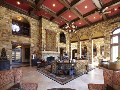 Custom estate designed by Sam Vercher from Tyler Texas