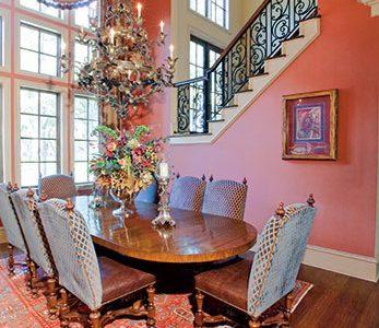 Interior of a luxury home designed by Sam Vercher