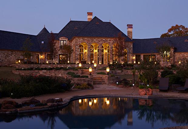 Facade of house designed by Sam vercher from Tyler Texas
